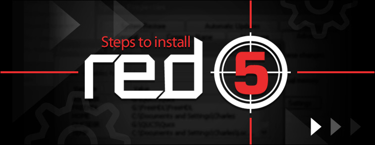 Steps to install RED5